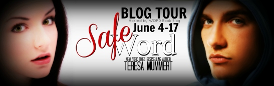 safe word banner for word blog tour